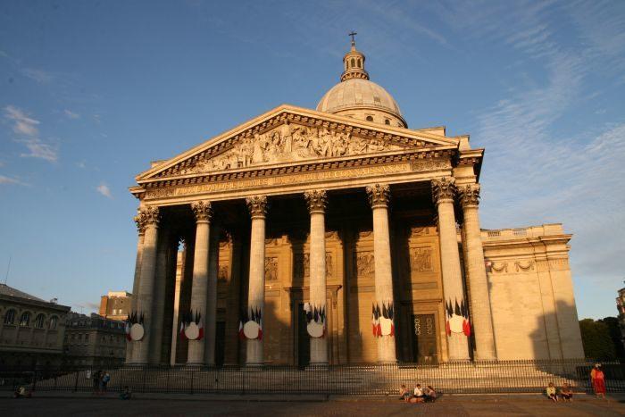 Le Panthéon en voie de restauration