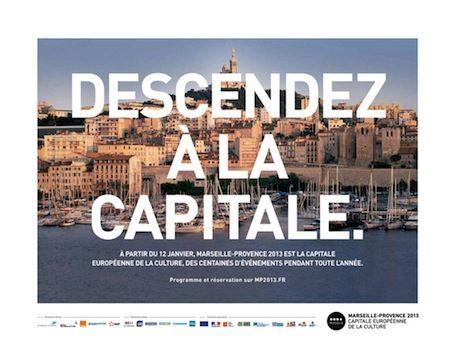 Marseille-Provence 2013 sera inaugurée les 12 et 13 janvier