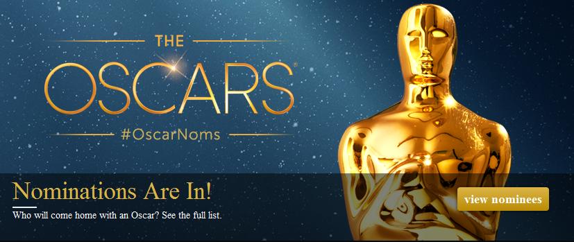 nominatiosn oscars 2013