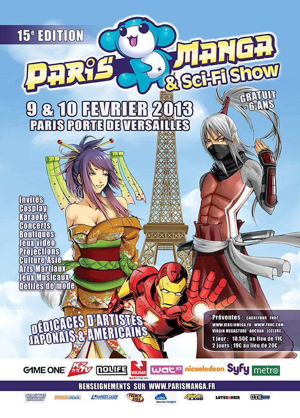 Paris Manga & Sci-fi show 15e édition