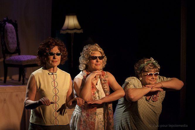 Les Pâtissières au théâtre des Déchargeurs