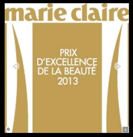 Les prix d'excellence de la beauté Marie Claire 2013