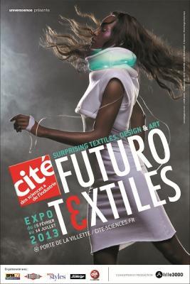 Futurotextiles à la Cité des Sciences et de l'Industrie de la Villette à Paris : Les froufrous du futur ?