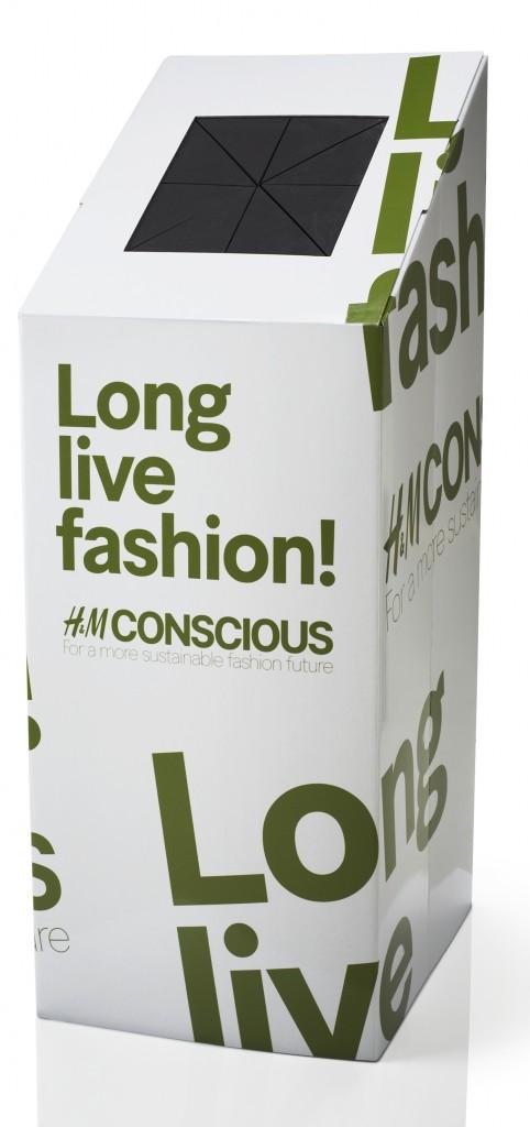 Recyclez vos vêtements contre des bons d'achat : H&M fait le test sur trois magasins pilotes à Paris