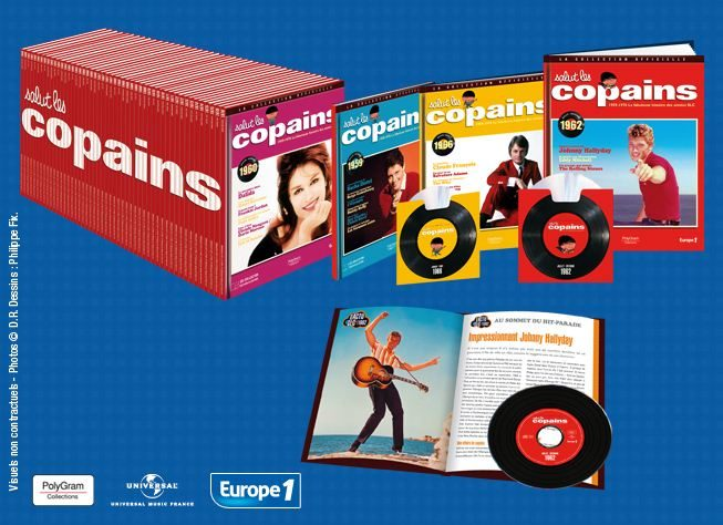 Gagnez l'un des trois CD de Salut Les Copains