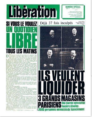 Bon quarantième anniversaire Libération !