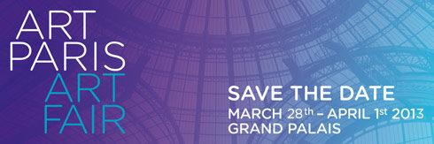 ArtParis aura lieu du 28 mars au 1er avril 2013 sous la nef du Grand Palais