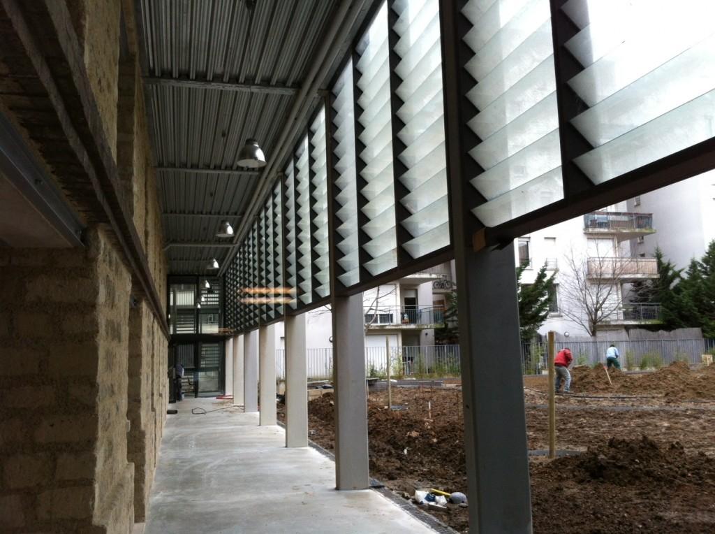 La Briqueterie Centre de développement chorégraphique du Val-de-Marne, bientôt prête à ouvrir ses studios