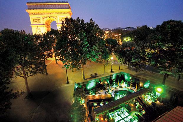 L'Arc accueille un restaurant éphémère durant la Fashion-Week