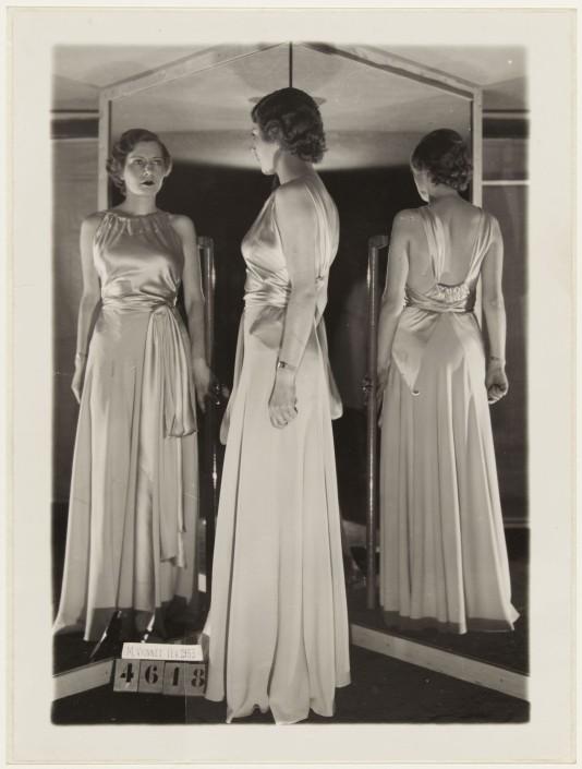 Robe du soir de Madeleine Vionnet, février 1933