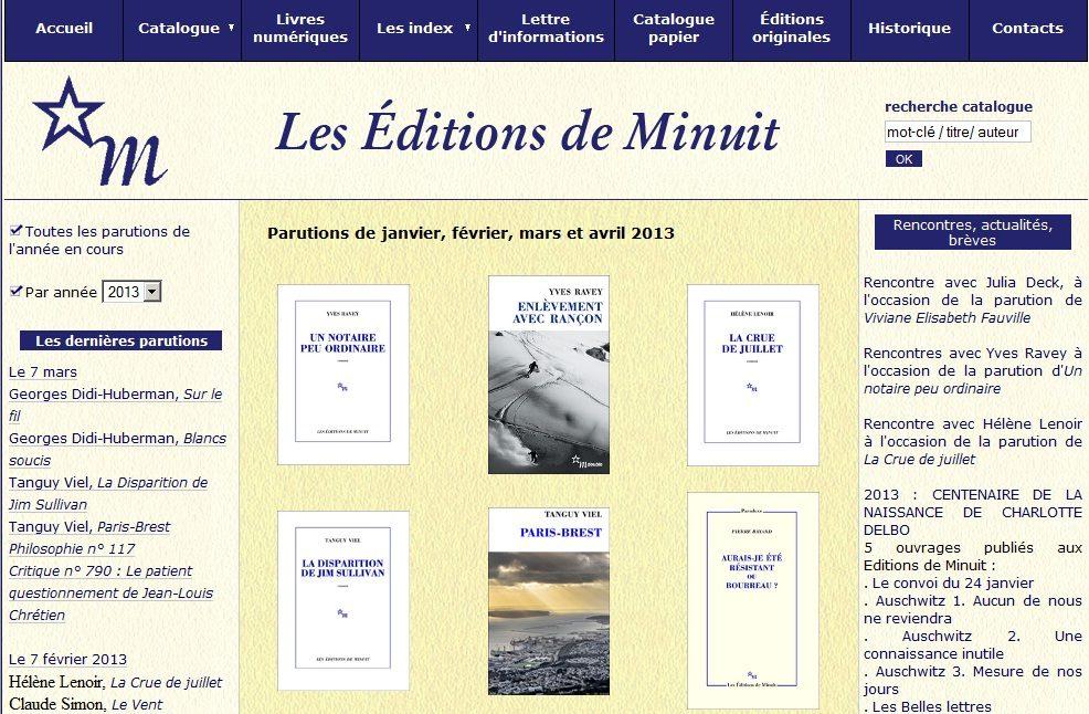 Editions de Minuit