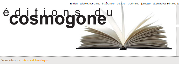 Editions du Cosmogne