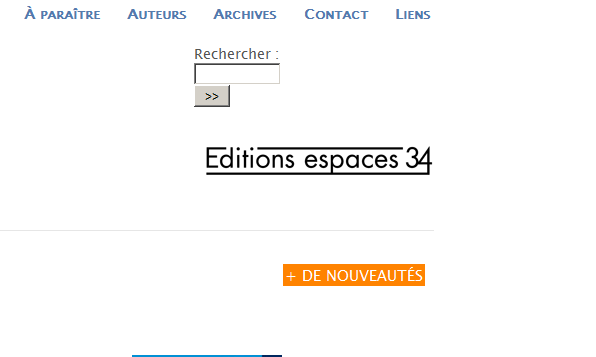 Editions espace 34