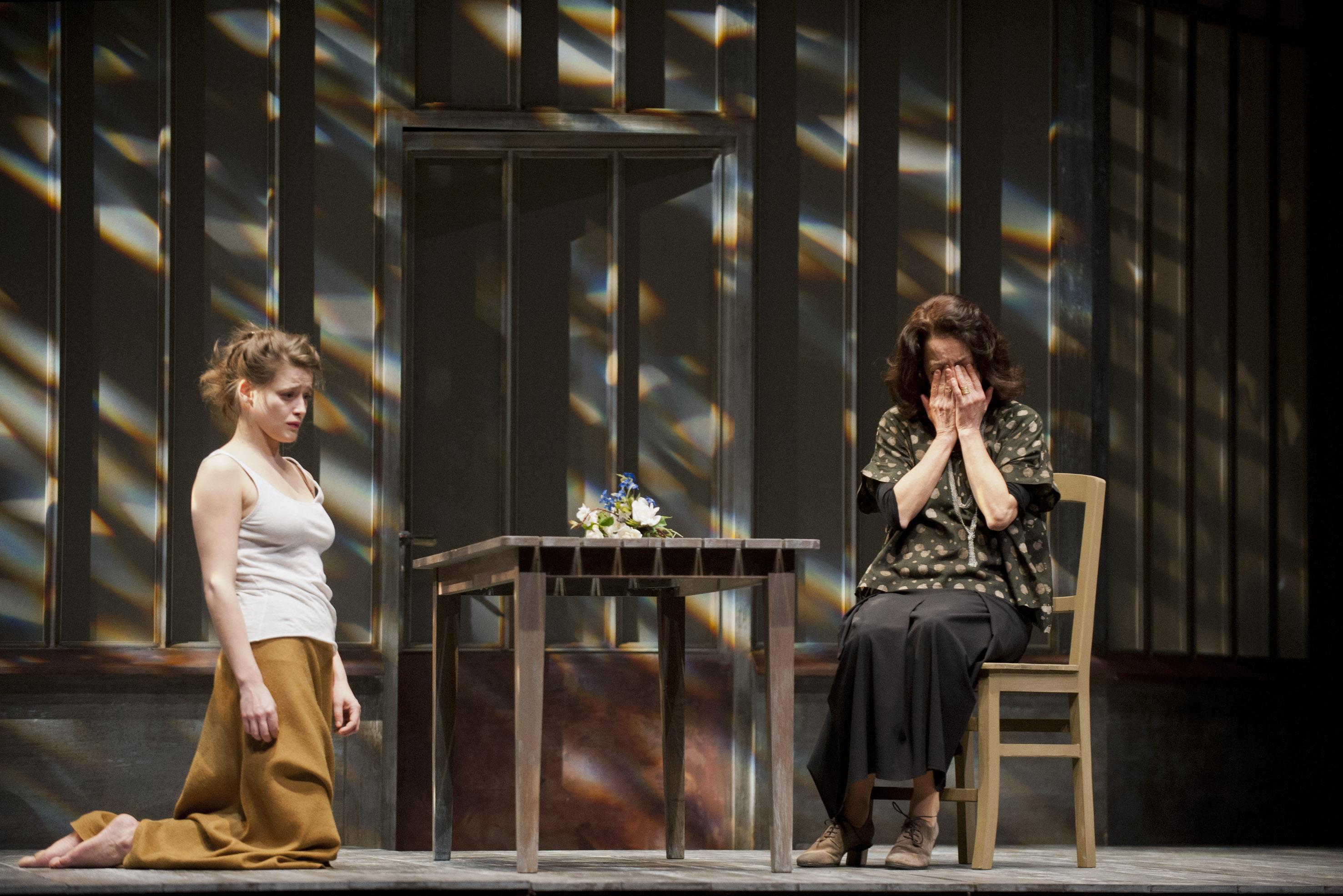 """Theatre de la Colline 2012-2013Répétitions Comédie de Reims 2013-02-03"""" SOLNESS LE CONSTRUCTEUR"""" Henrik IBSEN mes Alain FRAN�ON"""