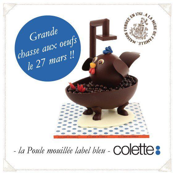 Le célèbre concept store Colette organise une chasse aux oeufs surprise
