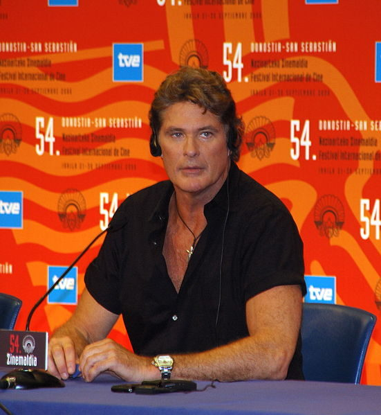 Alerte à Berlin : David Hasselhoff soutient l'action Save The Wall !
