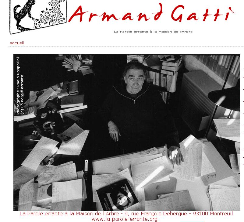 Cahier Armand Gatti