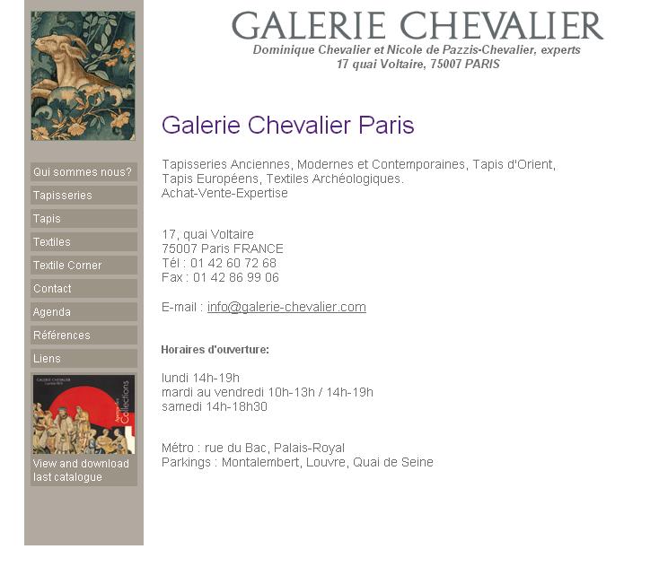 Galerie Chevalier