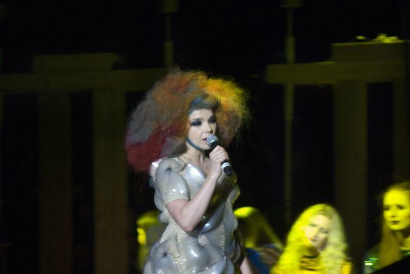 Son Altesse Björk au Zénith de Paris