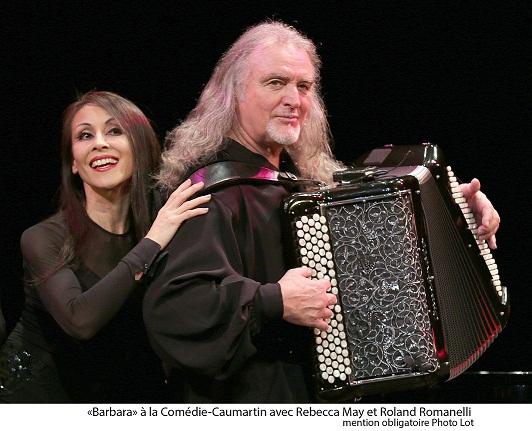 Barbara à travers le tendre prisme de son accordéoniste Roland Romanelli