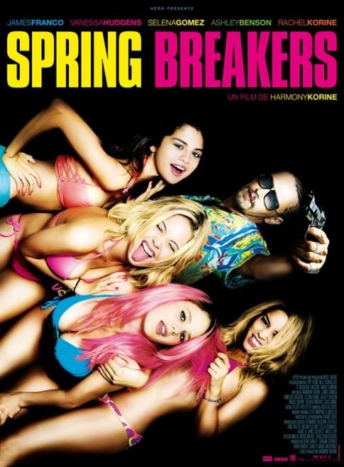 Spring Breakers, Harmony des images