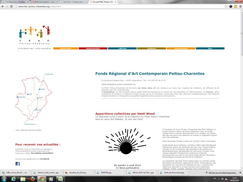 Fonds Régional d'Art Contemporain Poitou-Charentes