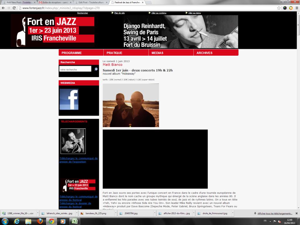 Fort en Jazz