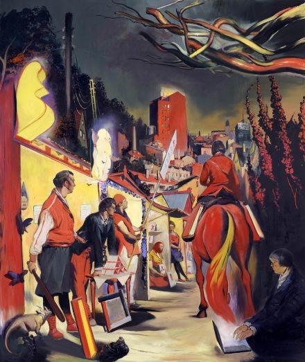 Grande retrospective du peintre Neo Rauch au BOZAR du Bruxelles