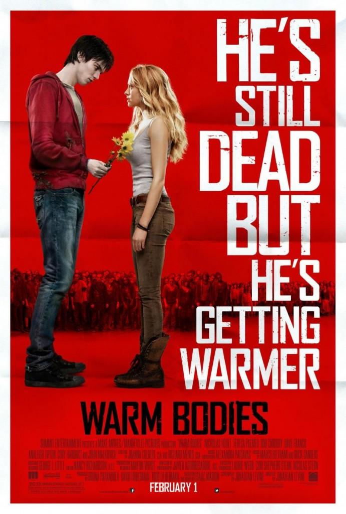 Critique: Warm Bodies, un 'zombie-teenage-movie' parodique, romantique et épique