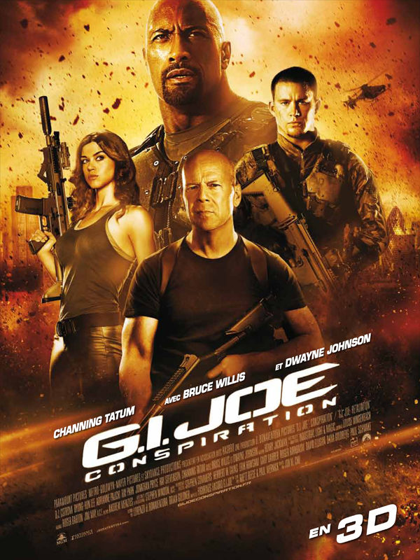 Critique: GI Joe 2 Conspiration, charmante bastonnade très pittoresque avec président américain, kung-fu et bazookas