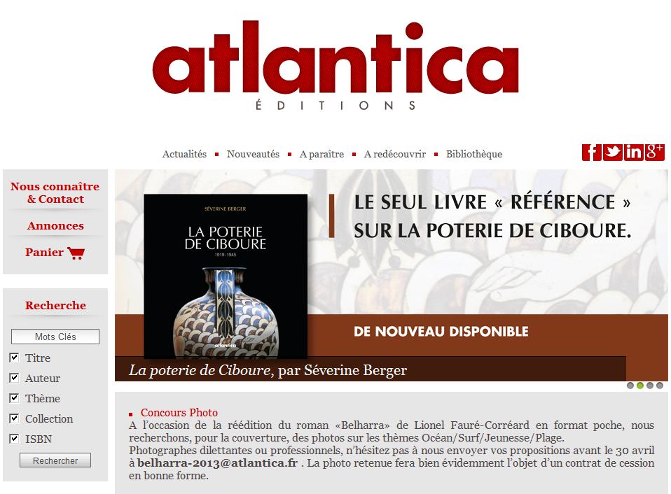 Editions Atlantica Séguier