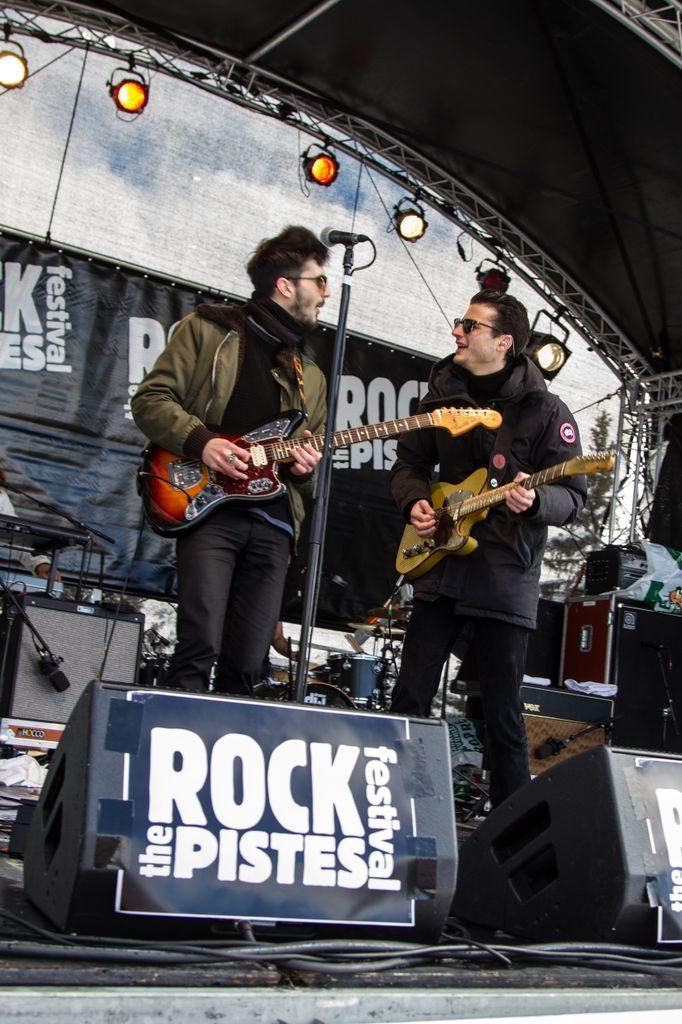Rock the pistes 2013-J 1 : Les BB Brunes assurent le show