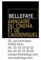 Bellefaye-Annuaire du cinema et de l'Audiovisuel