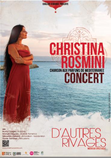 Christina Rosmini apporte le soleil de l'Espagne sur la scène du Sentier des Halles