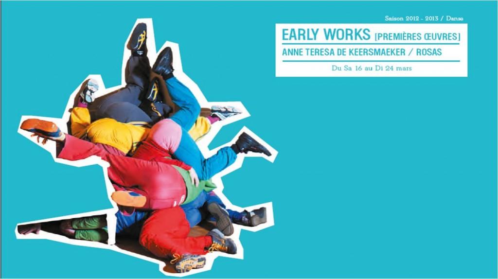 Early Works : Anne Teresa de Keersmaeker à l'honneur à l'Opéra de Lille