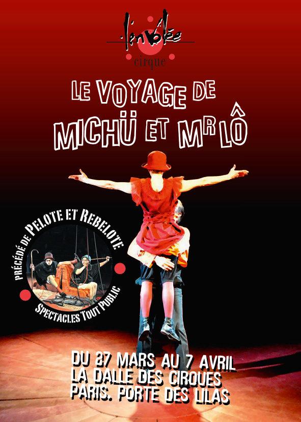 Gagnez 4×2 places pour les spectacles de l'Envolée Cirque le 4 avril à la Dalle du Cirque Electrique