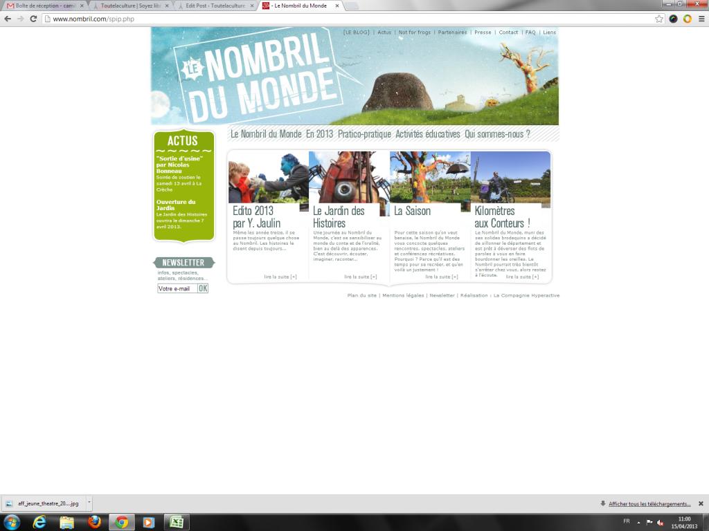Festival le Nombril du Monde