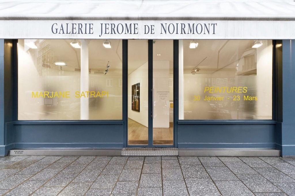 La galerie Jérôme de Noirmont a décidé de fermer