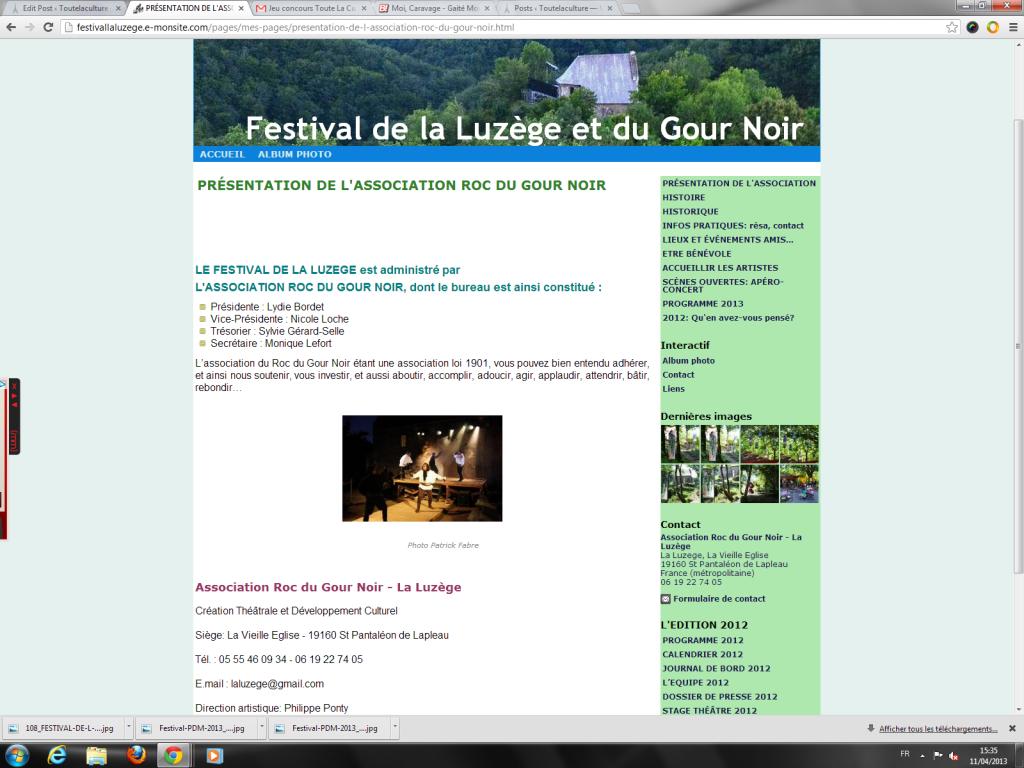 Festival de la Luzège