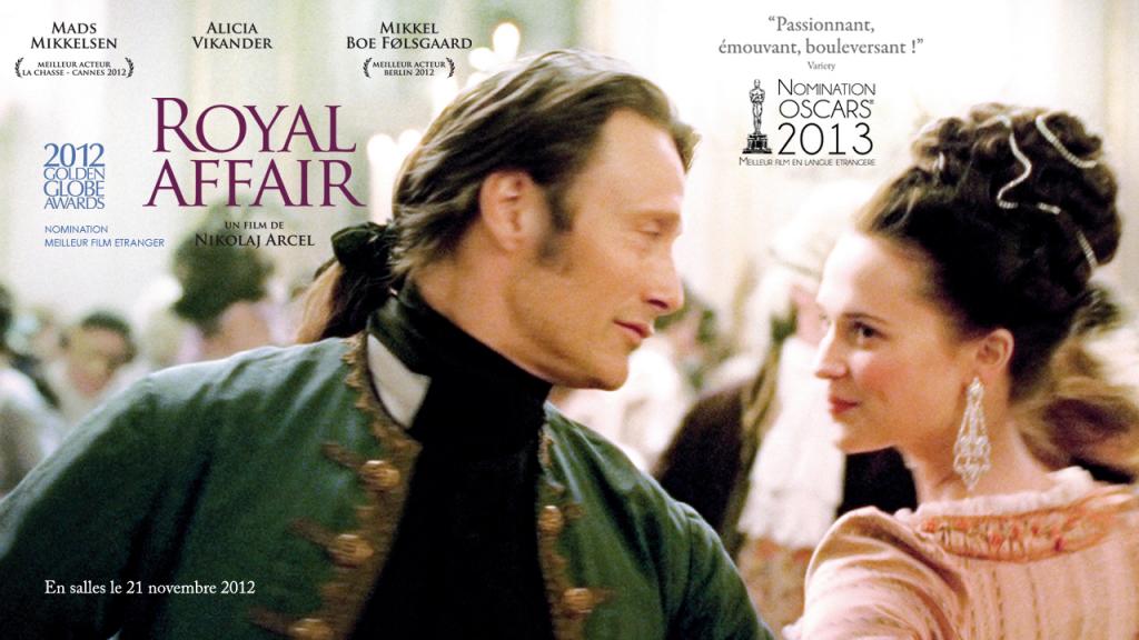 A Royal Affair : les coulisses des Lumières danoises en dvd et Blu-Ray