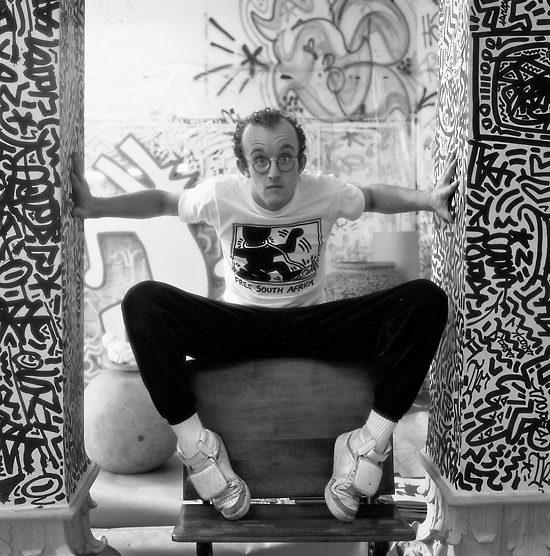 Keith Haring, underground et Pop art au MAM, chez Colette et au 104