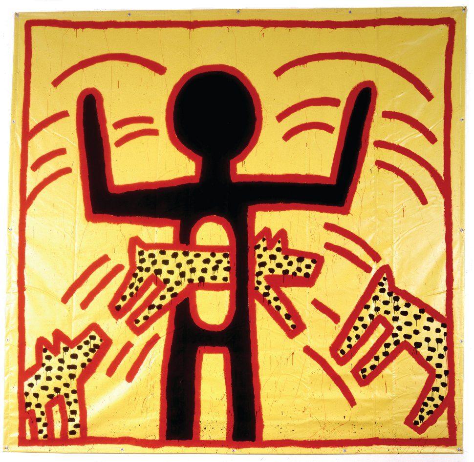 La Political Line furieusement actuelle de Keith Haring au Musée d'Art Moderne et au 104