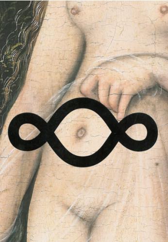 Affiche exposition Michelangelo Pistoletto Louvre