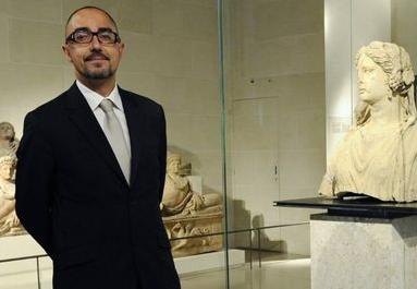 Jean-Luc Martinez, nouveau président-directeur du Louvre