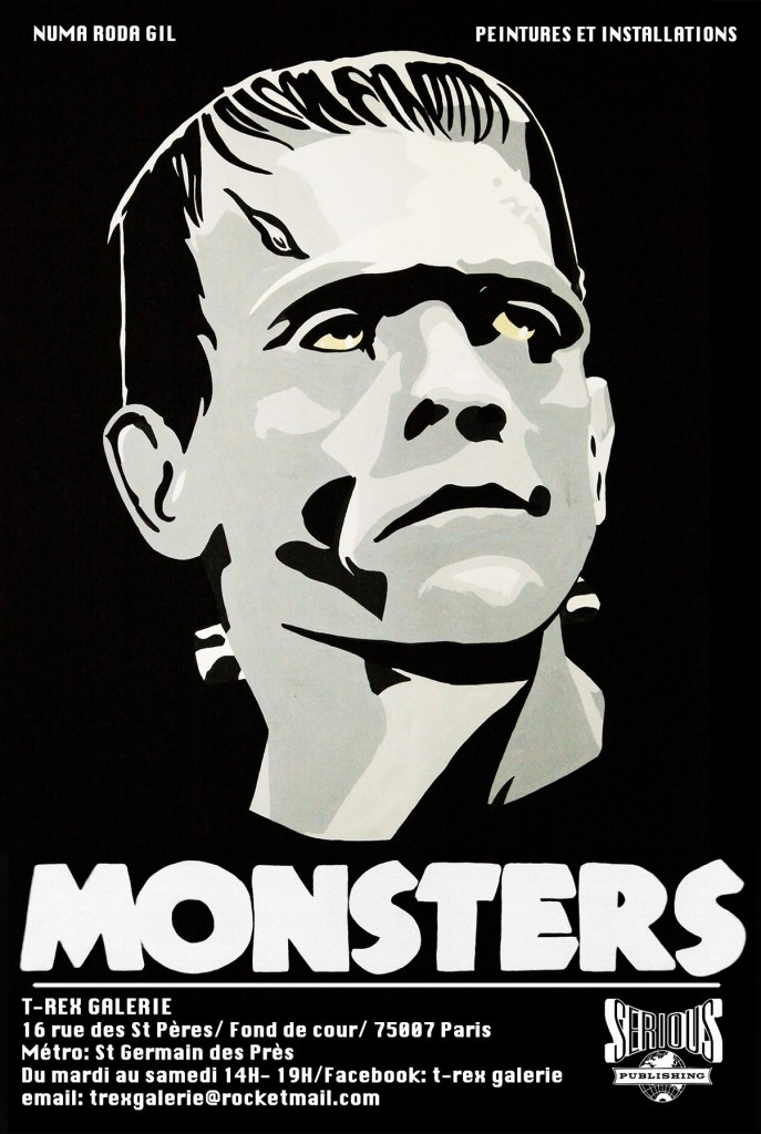 Les monstres de Numa Roda-Gil sont à la Galerie T-Rex
