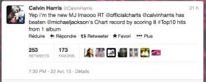 Tweet Calvin Harris