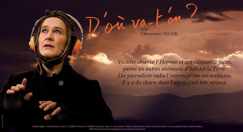 De l'humour et du sérieux – Clémentine Yelnik : D'où va-t'on ?