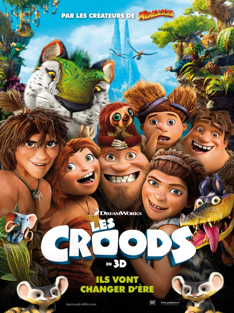 [Critique] « Les Croods » Dreamworks pas loin du sans faute dans une comédie d'aventures réjouissante