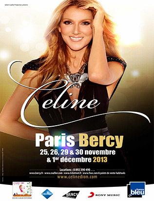 Céline Dion annonce cinq concerts en France