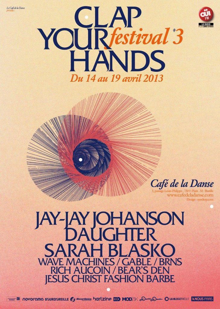 [Live report] Wave Machines et BRNS au Café de la Danse pour le Clap Your Hands Festival